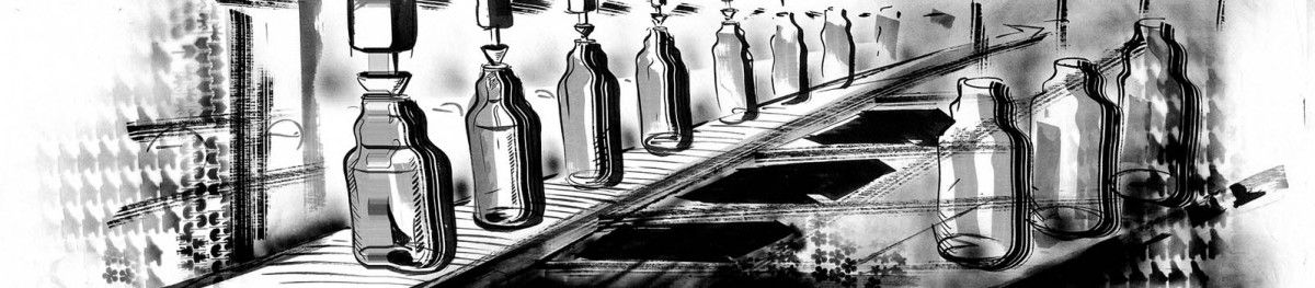 Bottling of liquid