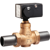 Globe and Three-way Valves for HVAC Systems